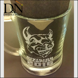 Beer Glass Engraving