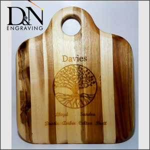 Cutting Board Engraving
