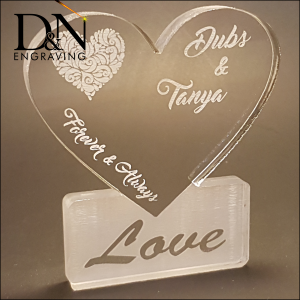Personalized Acrylic Heart