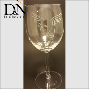 Wine Glass Engraving